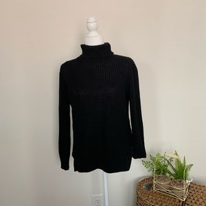 Forever 21 black turtle neck sweater